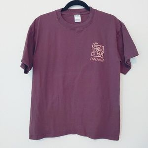 Robis Guatemala Brown T-Shirt. Size Large